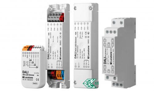 DALI 4Ch LED-Dimmer CV - Lunatone