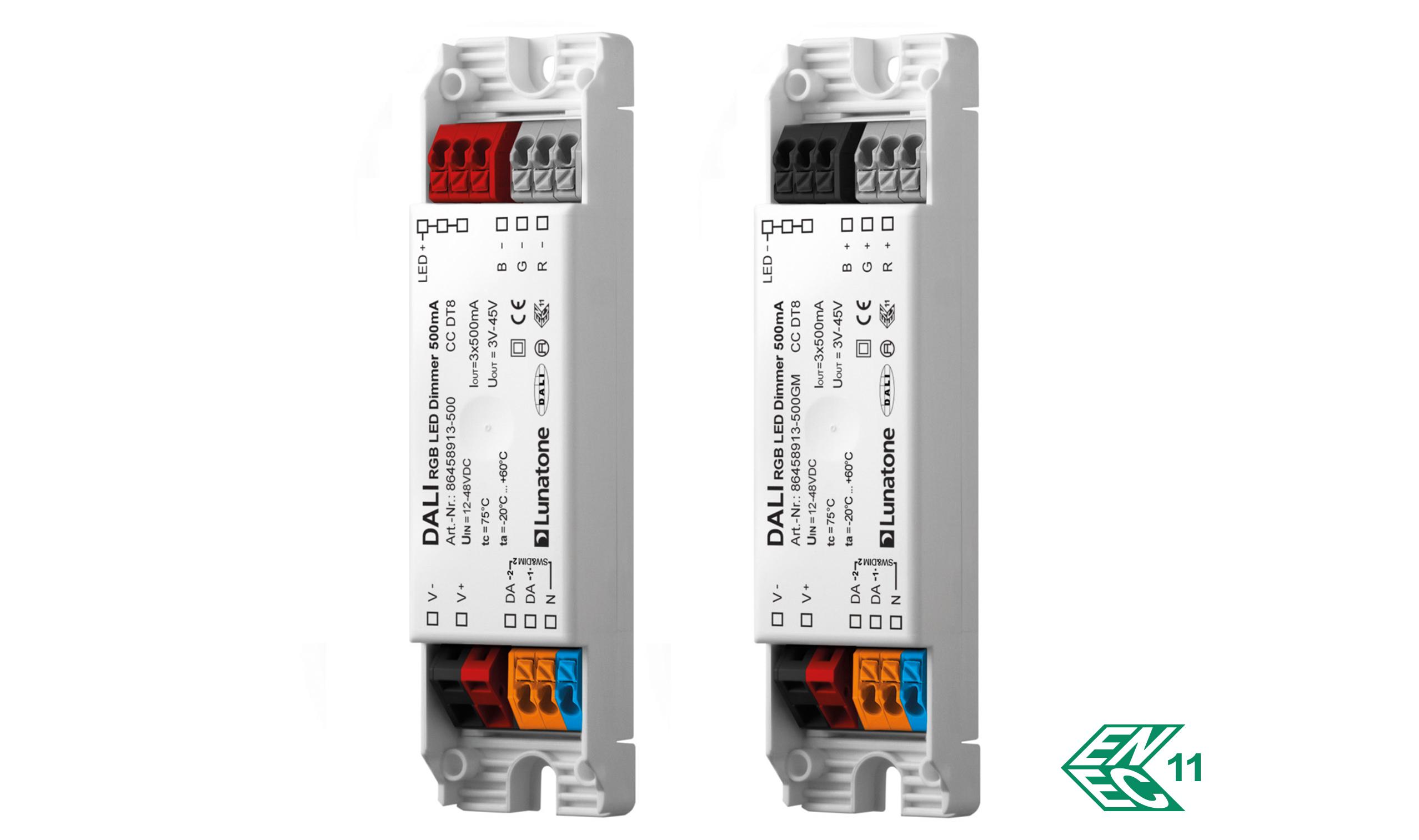 DALI RGB LED Dimmer CC DT8 Lunatone