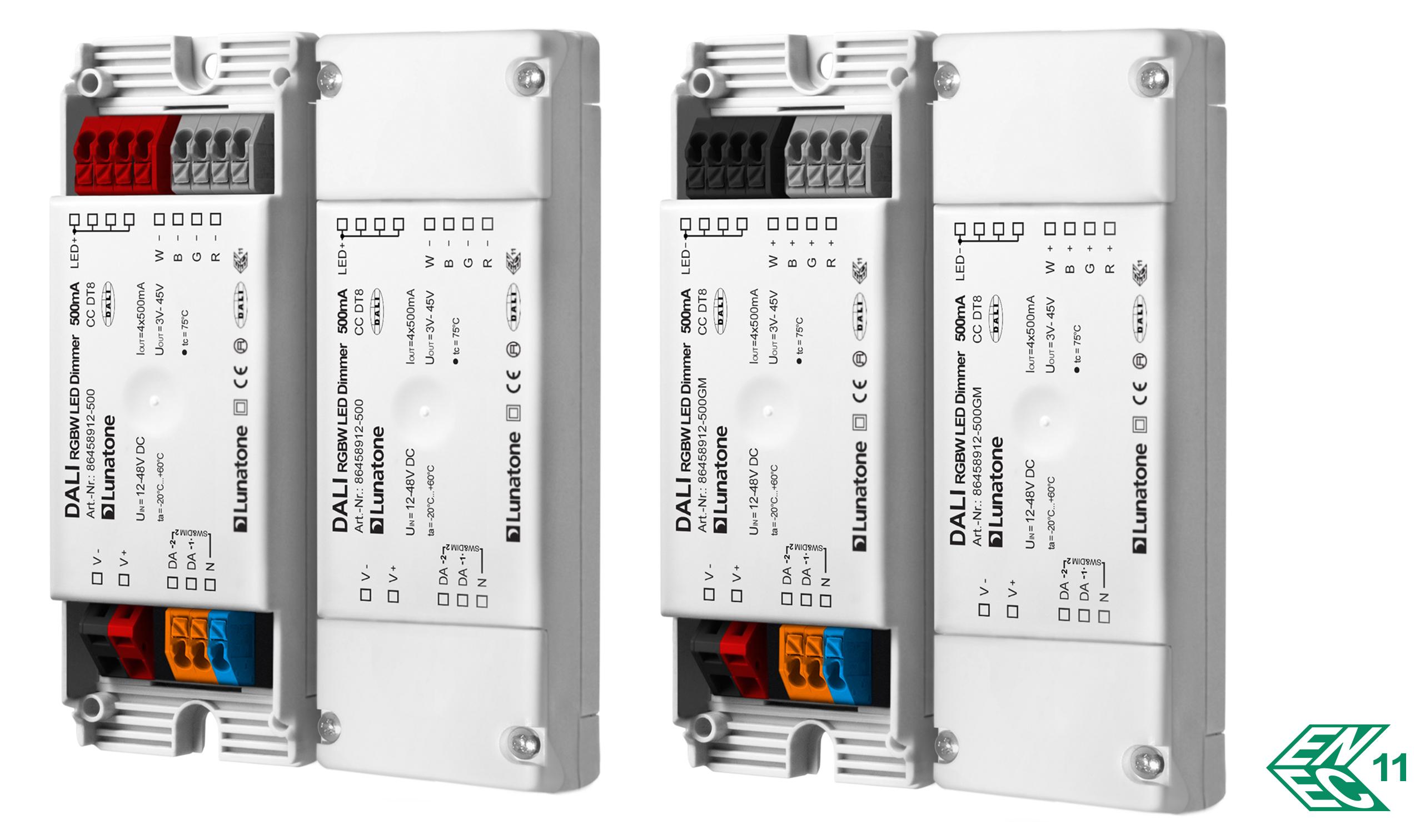 DALI RGBW LED Dimmer CC DT8 Lunatone